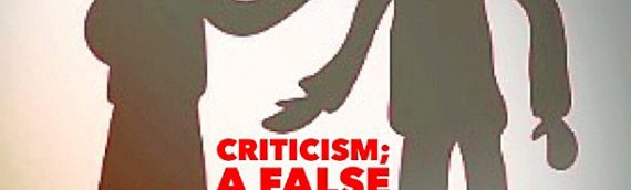 Criticism – A False Sense Of Power